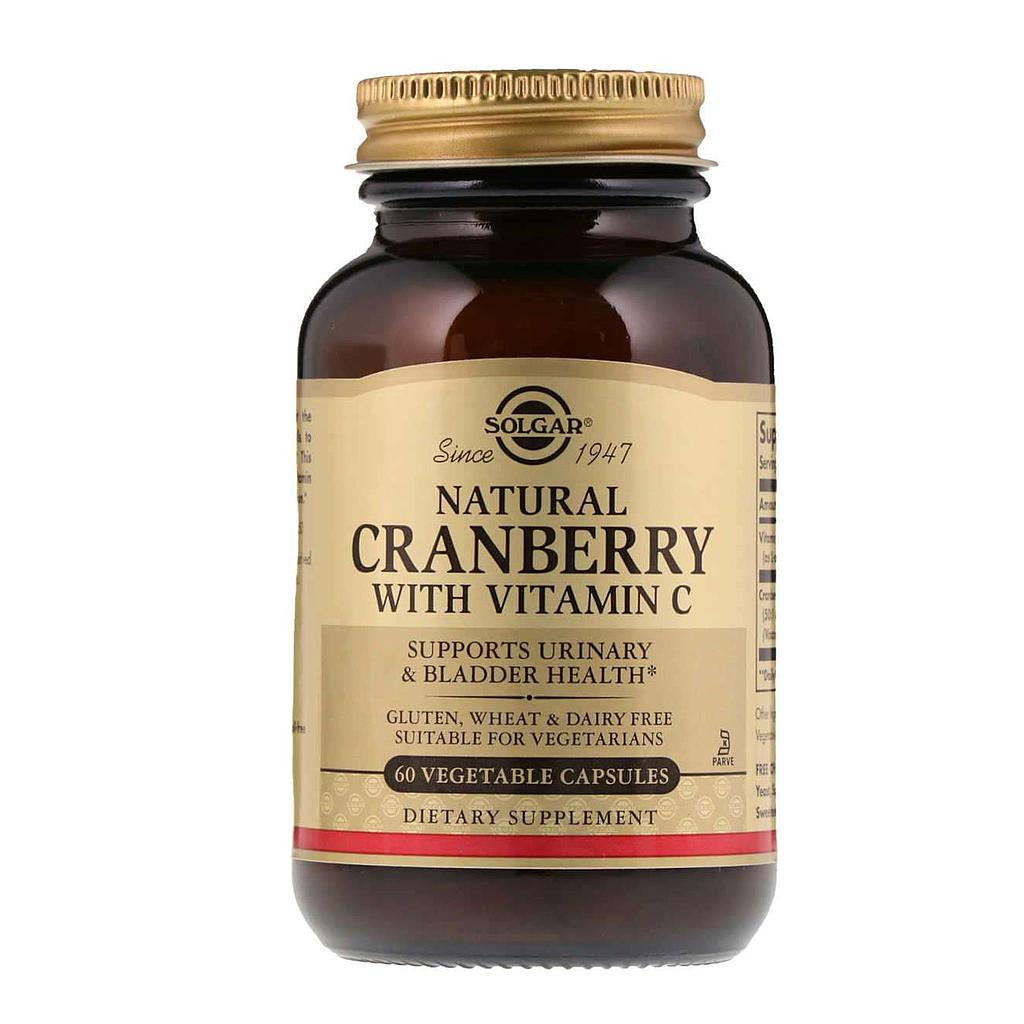 CRANBERRY with Vitamin C - Solgar